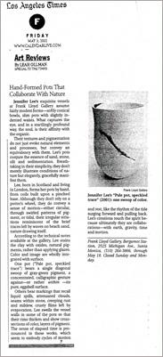Jennifer Lee Ceramics Media
